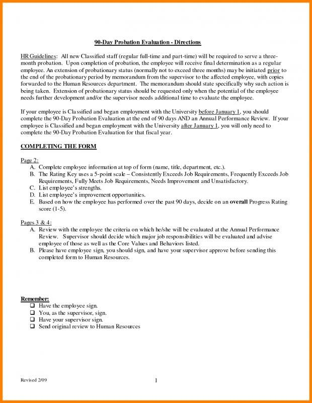 90 Day Probationary Period Template Check More At Https Nationalgriefawarenessday Com 47708 90 Day Probationary Period Template 90 Day Period Day