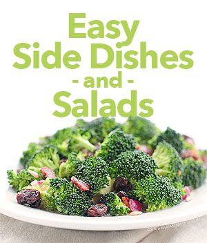 I have a confession to make. - She Wears Many Hats.  #side #dishes #salads http://shewearsmanyhats.com/i-have-a-confession-to-make/❤️