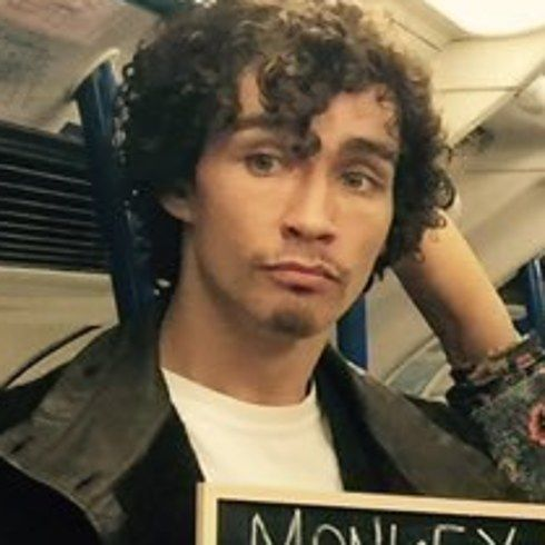 """Robert Sheehan as Nathan 