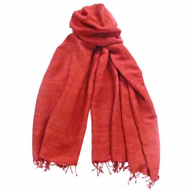 Blood Orange shawl