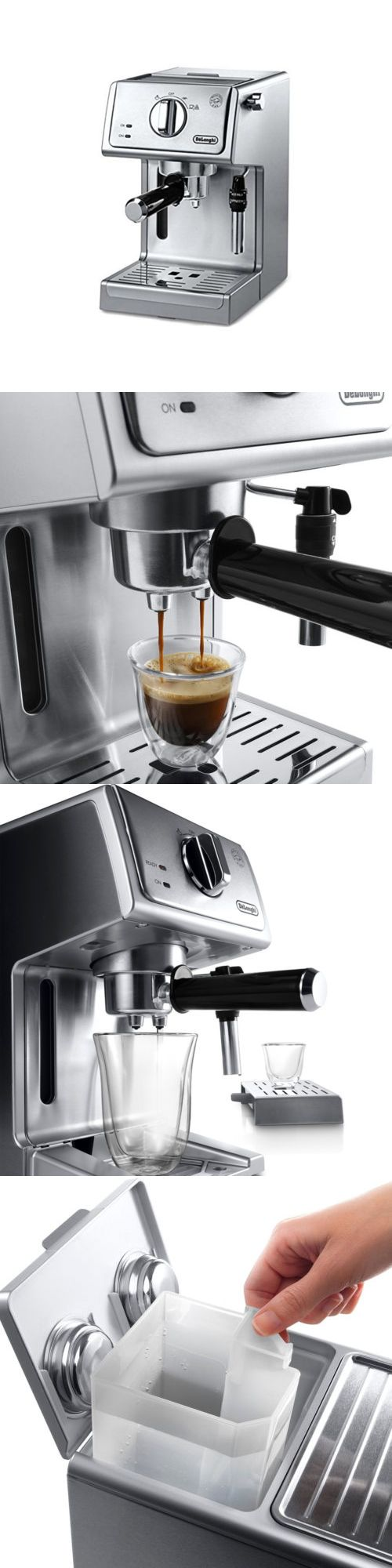 Espresso Machines 38252: De Longhi Ecp3630 15 Bar Pump Espresso And Cappuccino Machine, Stainless Steel -> BUY IT NOW ONLY: $199.95 on eBay!