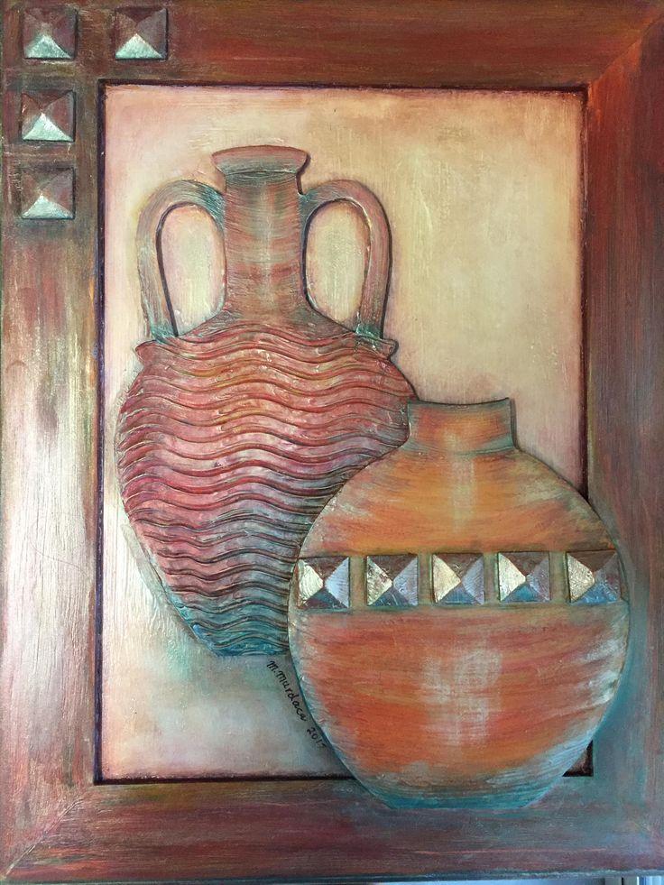 3D Vases by MariaCelestialArts on Etsy