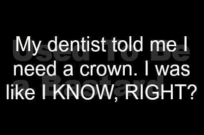 a crown ...