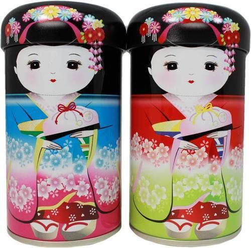 Kyoto TEMARI Candy and GENMAICHA Tea Set $9.25 http://thingsfromjapan.net/kyoto-temari-candy-genmaicha-tea-set/ #kyoto candy #genimaicha #japanese candy #Japanese tea