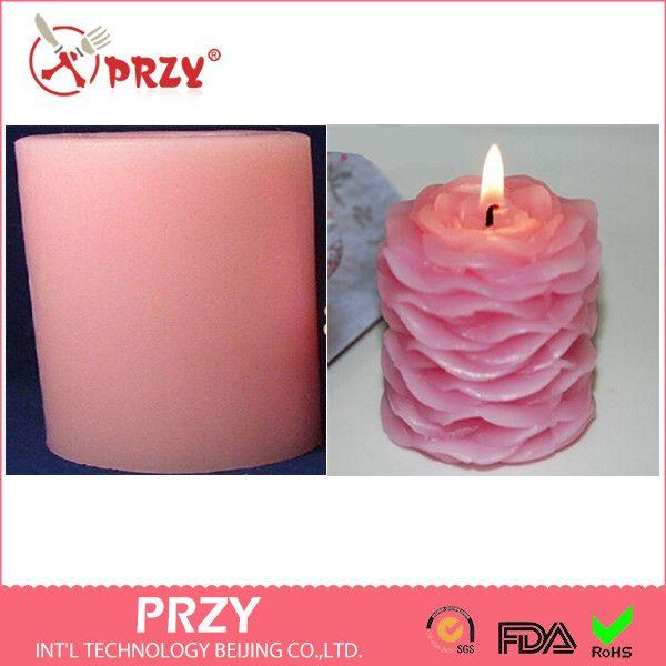 PRZY Bruiloft kaarsen silicone mold 3 d rose siliconen mal Bloemblaadjes zeep schimmel kunst kaars mallen