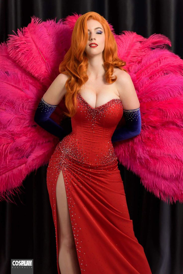 Cosplayer: Major Sam Cosplay. Country: Australia. Cosplay: Jessica Rabbit from Who Framed Roger Rabbit . Photo by: Cosplay Australia. https://m.facebook.com/MajorSamCosplay/