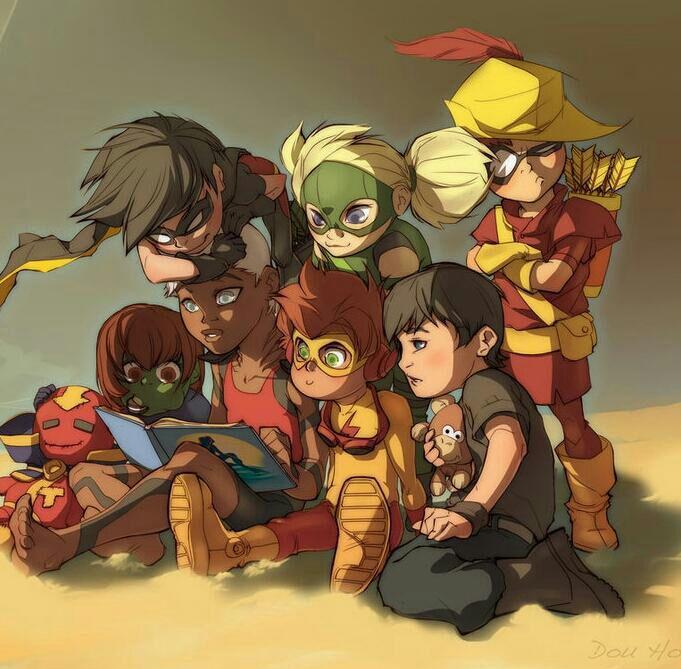 DC Comics Young Justice. For similar content follow me @jpsunshine10041
