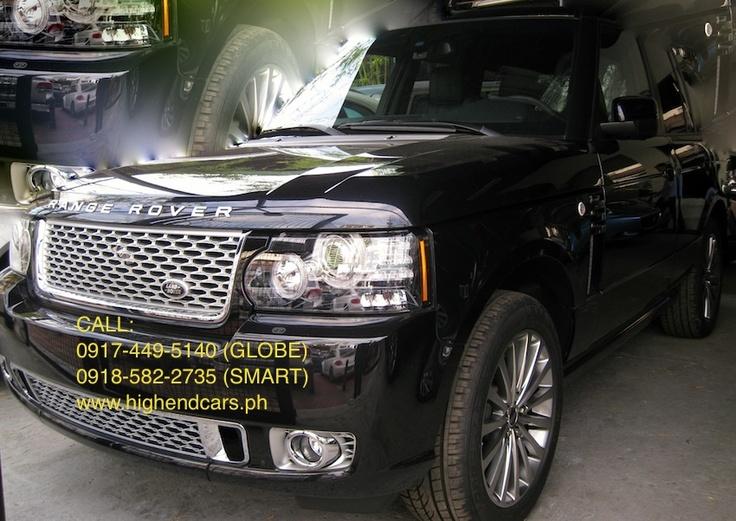 2012 RANGE ROVER VOGUE DIESEL Car rental