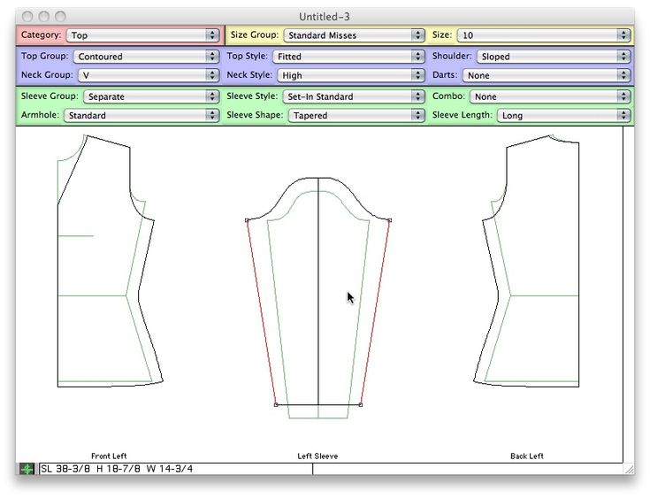 Knitting Drawing Software : Best knitwear designing shaping charting images on