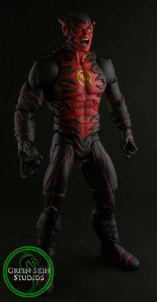 New 52 Reverse Flash Custom Action Figure