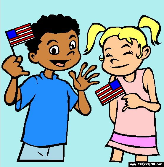 Waving Flags for Flag Day!!