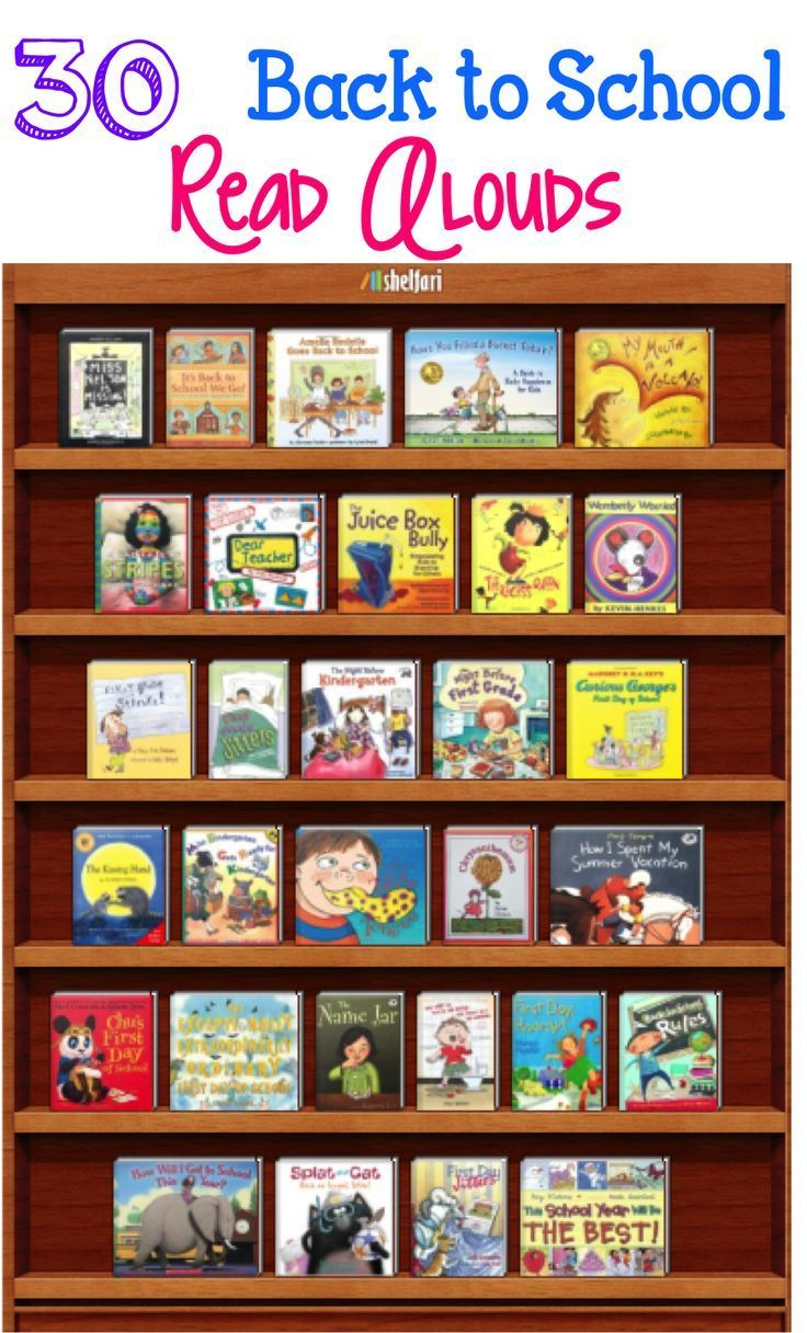 ***Back to School Read Alouds*** 30 books that will allow you to open a discussion and give students opportunities to make connections to your classroom. They also lend themselves well to teaching behaviors and expectations that will be enforced throughou