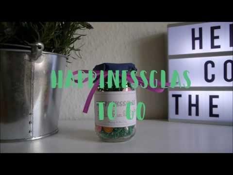 Happinessglas Nr. 1 - Frühling im Glas [ Öffentliche Glücksaktion ] - Happy & The City