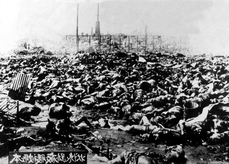 Hiroshima victims  Bodies of the victims of the first American atomic bombing on August 06, 1945 in Hiroshima. (APIC via Getty Images)
