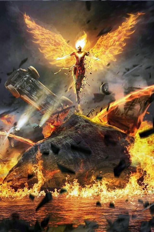 Phoenix Wallpaper 297 Fénix Oscura Superhéroes Marvel Y