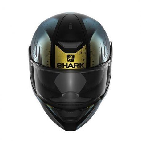 Casco Shark D-Skwal DHARKOV Black/Green/Glitter Mat HE4022EKGX.Donde comprar cascos de moto integral Shark D-SKWAL DHARKOV.