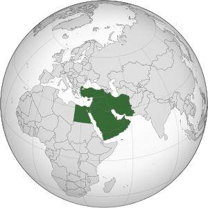 Mapa do Oriente Médio ou Médio Asiático  Países que compõem a região médio-asiático:  Arábia Saudita, Bahrein, Catar, Chipre, Egito, Emirados Árabes Unidos, Iêmen, Isarel, Irã ou Irão, Iraque, Jordânia, Kwait, Líbano, Omã, Palestina, Síria e Turquia.