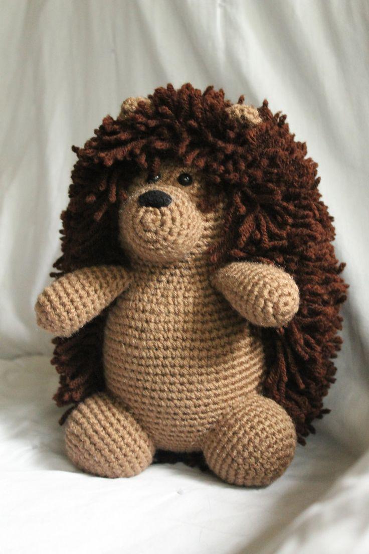 Herbert the Hedgehog - Amigurumi Plush Crochet PATTERN ONLY (PDF). $3.50, via Etsy.