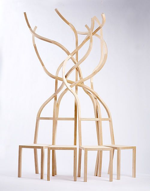 'United We Stand' #chair by Rob Southcot #furniture