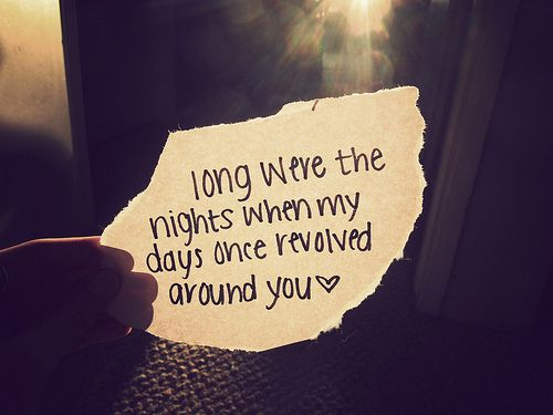 A line from the song ''Dear John'' by Taylor Swift. I love Taylor Swift, i can relate so much to a lot of her songs. x