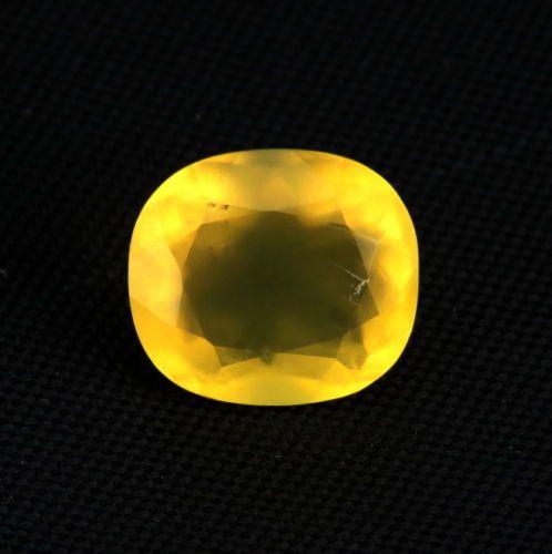 Catawiki Online-Auktionshaus: Gelber Feuer Opal  4,39 Ct