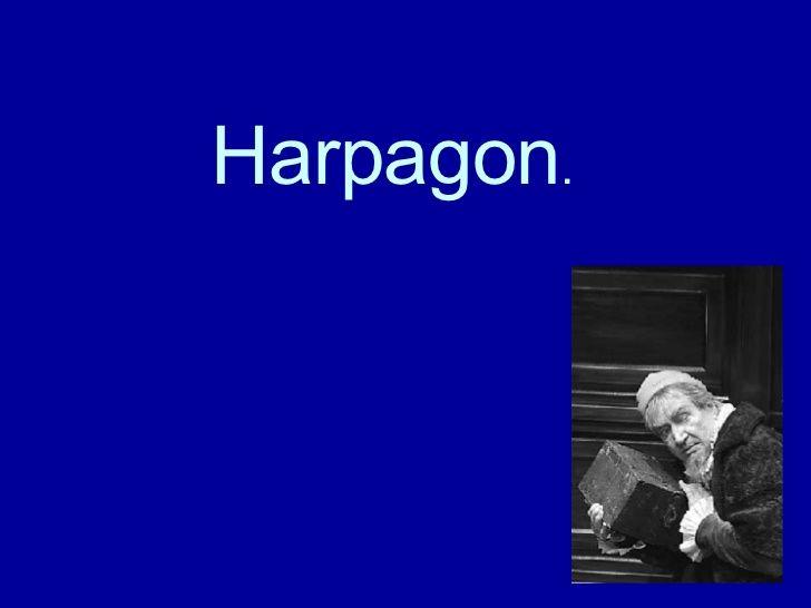 Le Portrait D'Harpagon