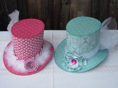 Mad Hatter Hats Fit for Tea tutorial: Hats Fit, September Ninth, Teas Parties Hats, Hatters Teas, Mad Teas Parties, Mad Hatters, Diy Craft, Parties Ideas, Paper Hats