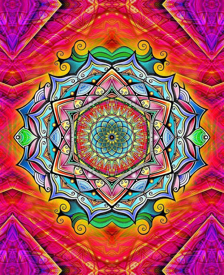"""En los últimos años los mandalas o mándalas están adquiriendo una gran importancia.Pueden ser desde bellos objetos decorativos hasta originales mecanismos con los querelajarnos a través de sus colores y formas. Son muchas las personas que los adquieren en láminas enblanco y negro para pintarlos, para envolverse en su mágico y ancestral encanto.La palabra """"mandala"""" procede del sánscrito y significa""""círculo sagrado"""", una repr"""