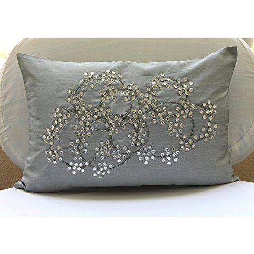 Luxury Silver Lumbar Pillow Cover, Medallion Crystals Spa... https://www.amazon.com/dp/B00VDDMYKW/ref=cm_sw_r_pi_dp_x_BoFdybECNWJFV