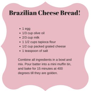 Brazilian Cheese Bread! Just had this last night at Fogo de Chao and they were AMAZING!