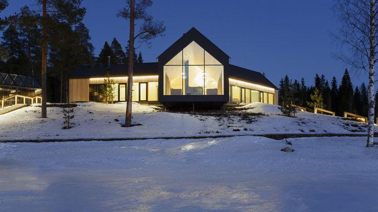 Gallery of House Y / Arkkitehtitoimisto Teemu SPirinen -  Glasing Savon Lasituote Oy www.savonlasituote.fi