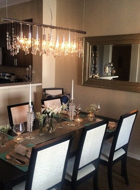 17 Best images about CRYSTAL CLEAR – Linear Chandelier Crystal