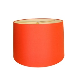 @Overstock - Add a stylish touch to your home decor with this orange lamp shade. A hardback fabric finishes this lovely shade. http://www.overstock.com/Home-Garden/Orange-Round-Hardback-Lamp-Shade/6808216/product.html?CID=214117 $46.99