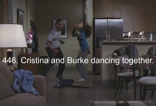 pretty epic moment. I don't think Owen ever danced with Cristina and his character just never grew on me.