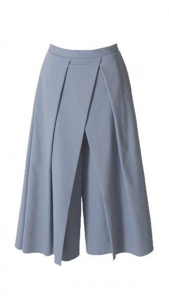 Tibi Agathe Pleated Culottes on shopstyle.com