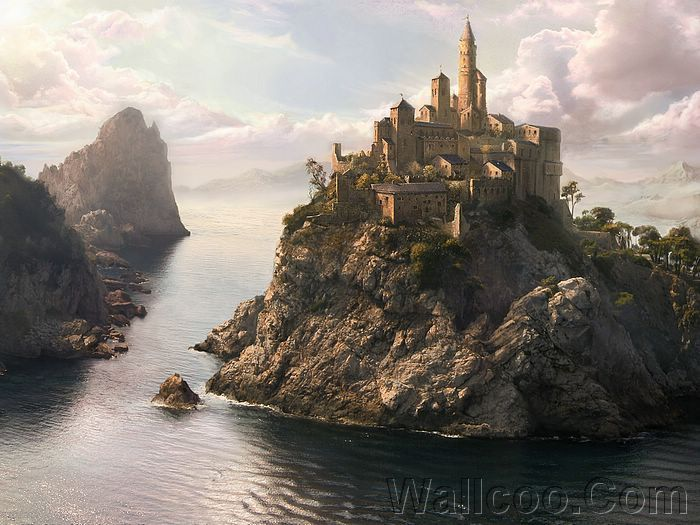 1680x1050 hidden castle scenery - photo #24