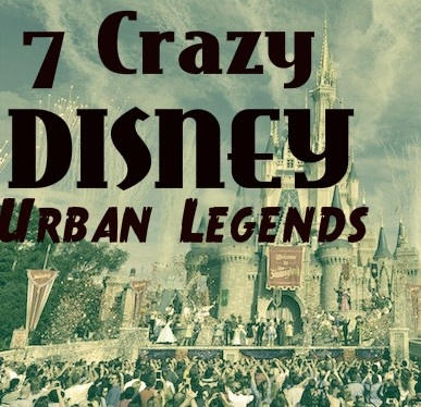 Disney urban legends and myths