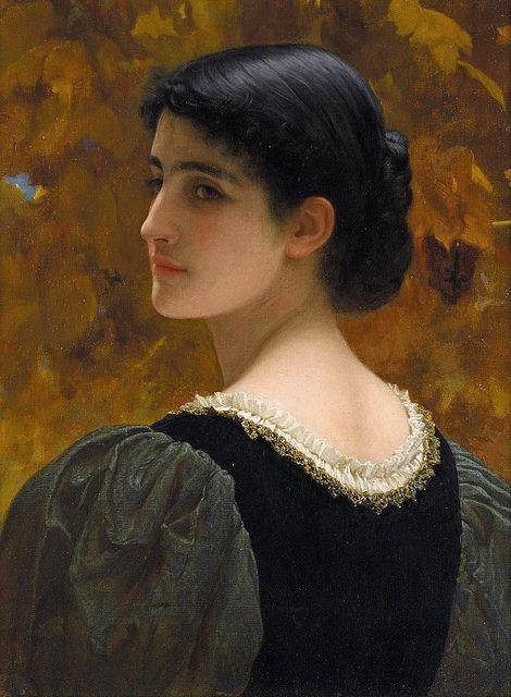 Charles Edward Perugini A Backward Glance c.1870
