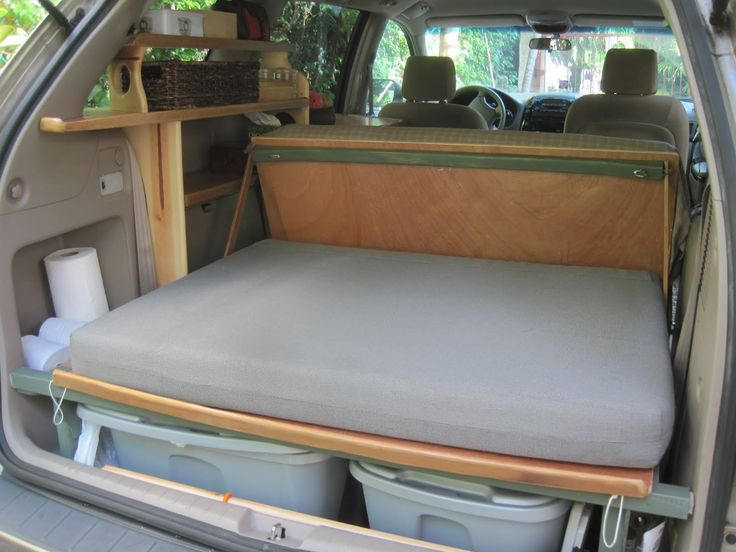The Grove Guy: MINIVAN CONVERSION