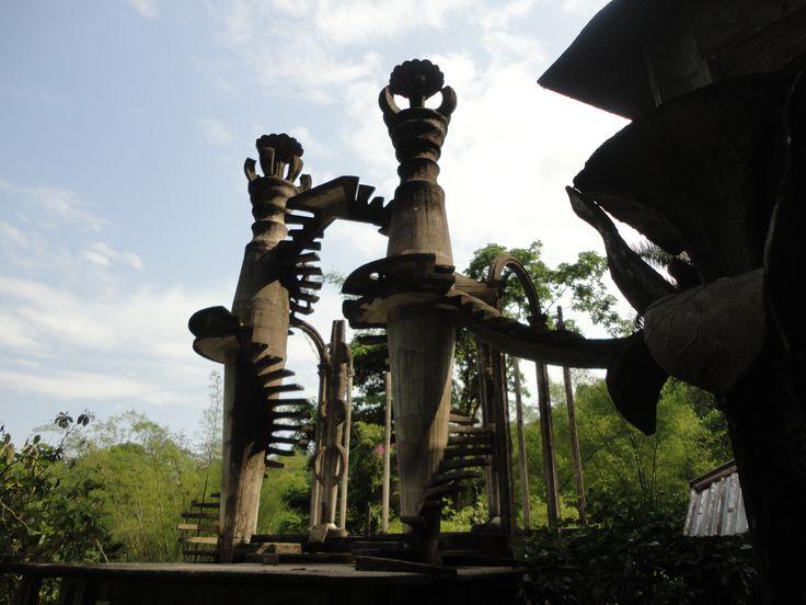 Jardín surrealista de Edward James, Xilitla SLP