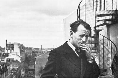 Retrato de Gisèle Freund a André Malraux en 1935.
