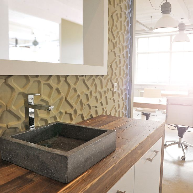 Hive #wallFlats add a lot more than just character to your walls. Easy to install, paintable, and stylish.  #3dwalls #3dtiles #dimensional #diy #diy3dwall #diyproject #ideas #livingroomdiy #livingroomgoals #eco