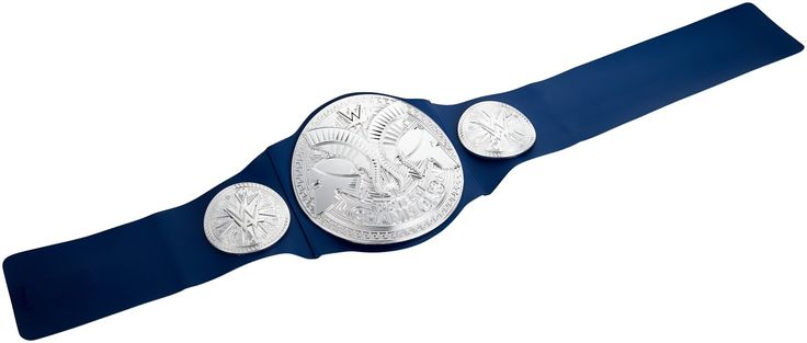 WWE Smackdown Tag Team Championship Belt. Now kids can take home the excitement of the WWE and its ultimate badge of honor -- the WWE Championship!. This trophy item comes with authentic styling, sleek metallic medallions, a leather-like belt and a one-time adjustable feature to fit around the waist of any child eight years or older!. Each Championship in the assortment is designed to resemble the ones worn and proudly flaunted by your favorite WWE Superstars. Choose from a wide variety…