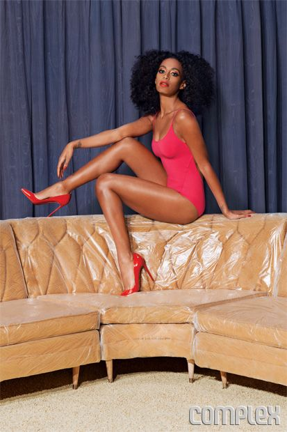Solange Rocks JUNC On Complex Magazine June/July Issue [Photos]