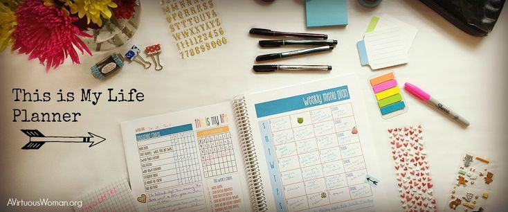 Printable: This is My Life Planners are sooo pretty. The colors are fun! And the fonts are definitely some of my favorites. You'll love them!