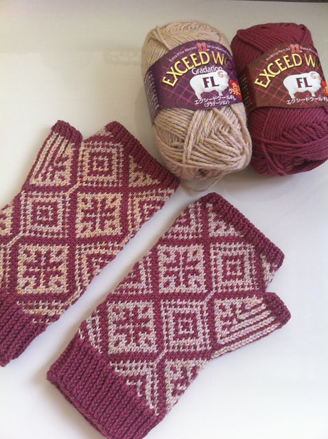 Knitting Patterns For Fingerless Gloves With Mitten Cover : 1000+ images about Knit Fingerless Mittens & Gloves on ...