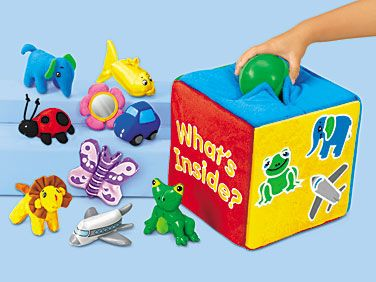 Lakeshore's Soft Feely Box is the perfect way for kids to feel and explore!