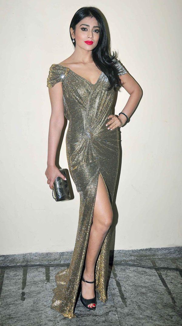 Shriya Saran at special screening of 'Ugly'. #Bollywood #Fashion #Style #Beauty