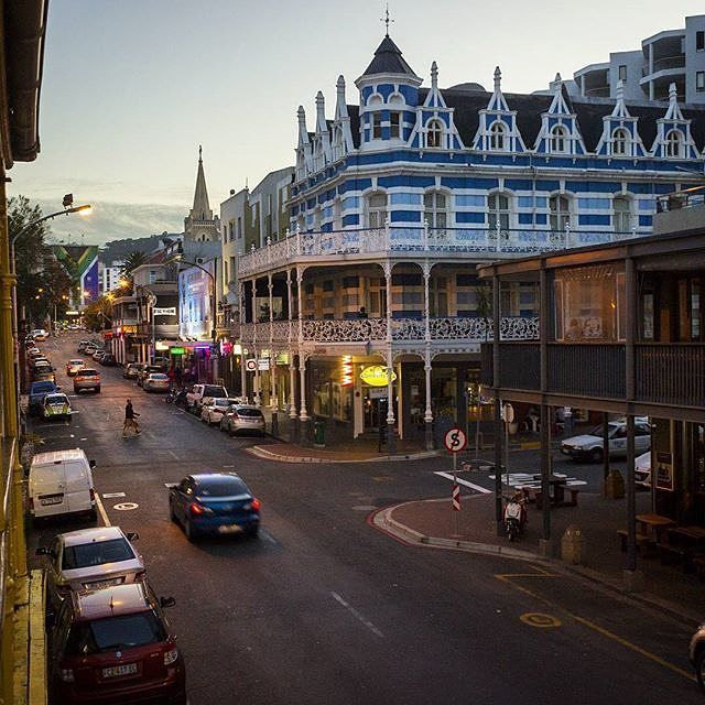 """@joshua.oates """"Blue Mountain Backpackers on Long Street. Love the old architecture that still stands in Cape Town."""" _______________________________ @joshua.oates is running our weekend takeover, he'll be sharing his beautiful views of the Western Cape and Cape Town with you so sit back relax and share your shots with #capetownmag to be featured!"""