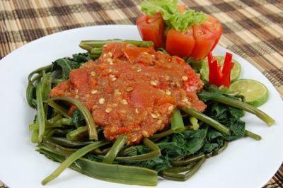 Plecing Kangkung | Hidangan Nusantara | Hidangan Nusantara Favorit | Hidangan Nusantara Terpopuler